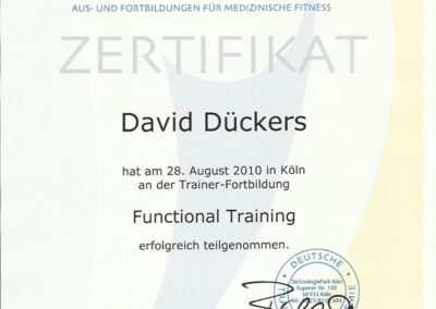 Functional Trainer DTA