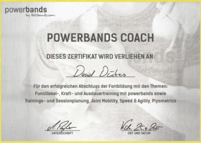 Powerbands Coach