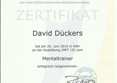 Mentaltrainer DTA